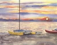 Catamaran Sunrise