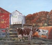 November Morning at Maple Dell Farm