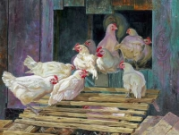 Twelve French Hens